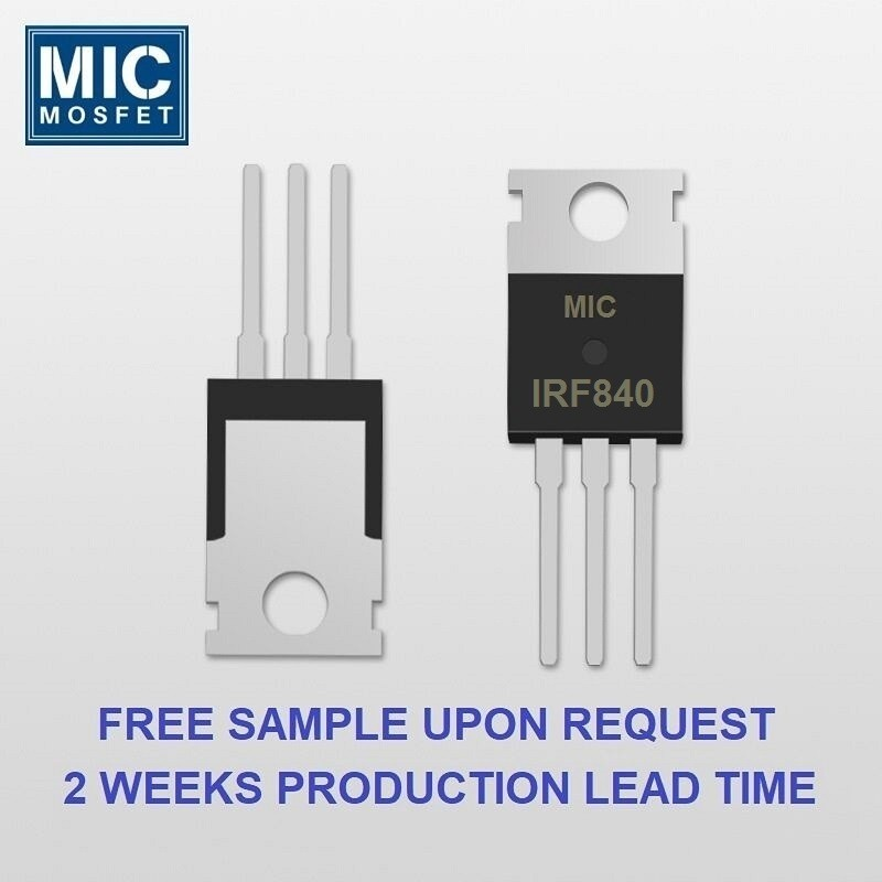 Infineon IRF840N MOSFET alternative equivalent replacement